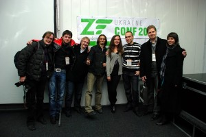 Фото после конференции